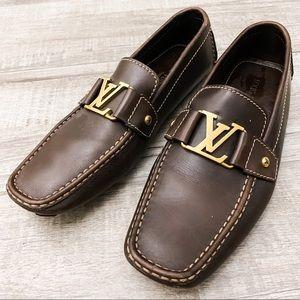 💯 Louis Vuitton Monte Carlo men's loafers